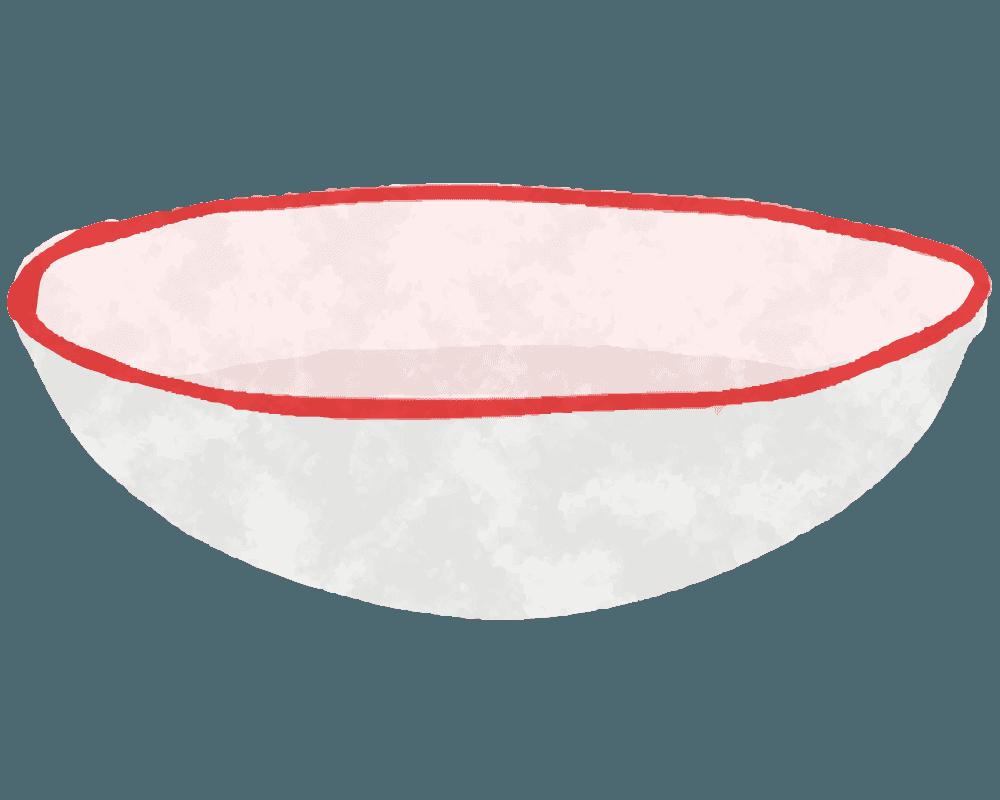白いボールのイラスト
