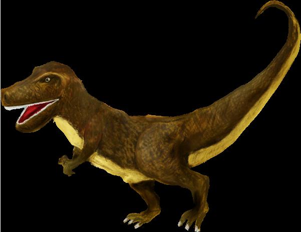 かっこいいティラノサウルスのイラスト