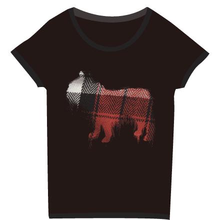 ブラックフレブルワッペン風Tシャツ
