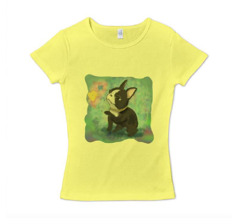 昭和レトロフレンチフライスTシャツ