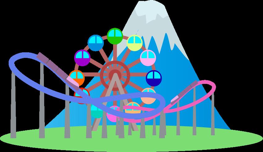 富士急ハイランドのイメージ挿絵