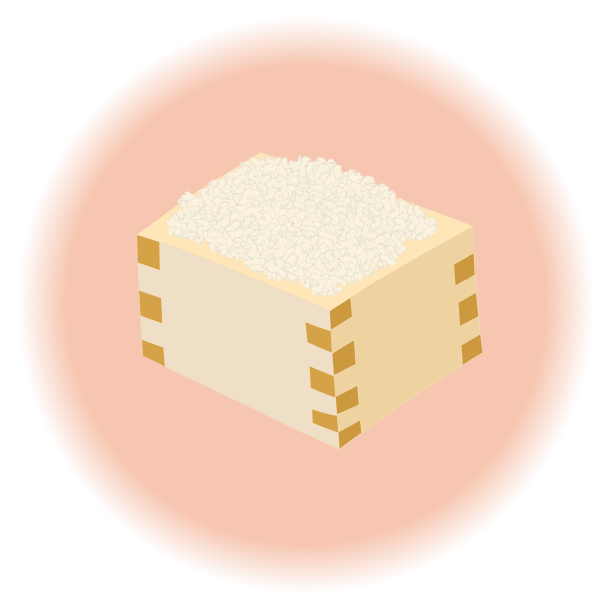 お米のイラスト