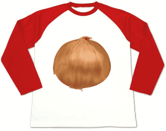 玉ねぎ野菜Tシャツ