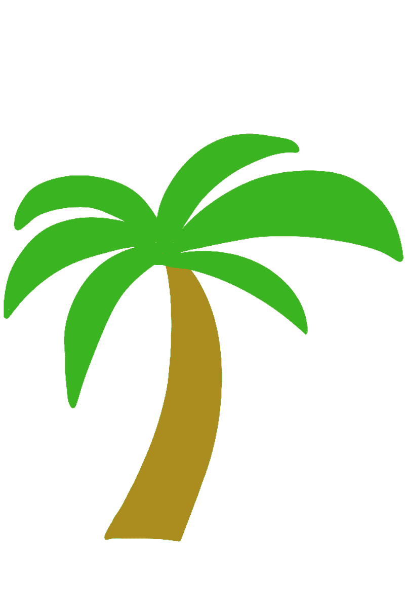 ヤシの木イラスト