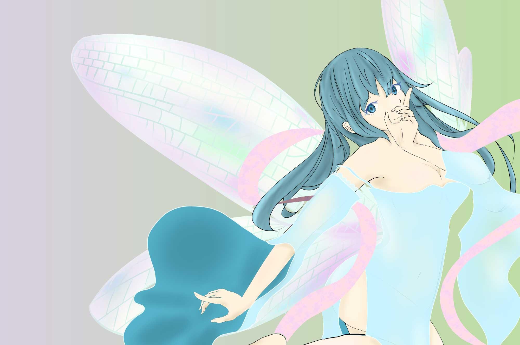 妖精ピクシーのイラスト - 可愛いクリーチャー素材