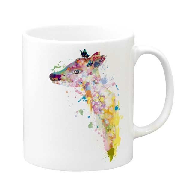 夢鹿マグカップ