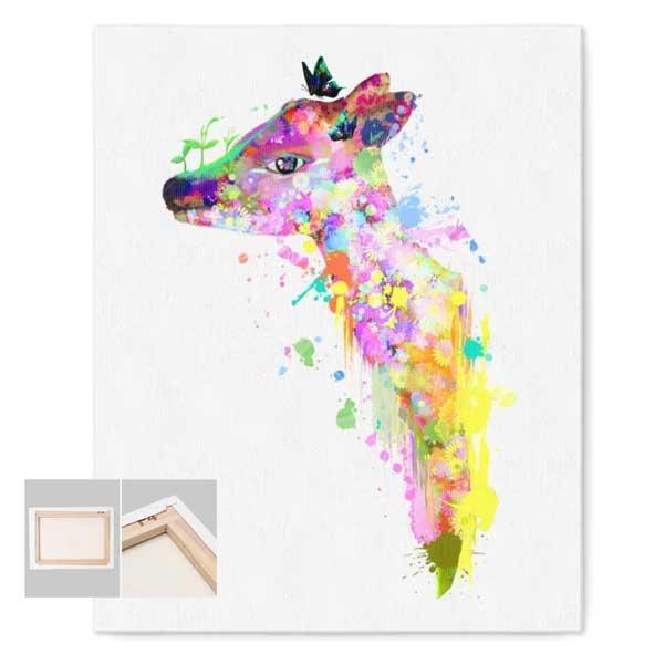 鹿の夢キャンバス