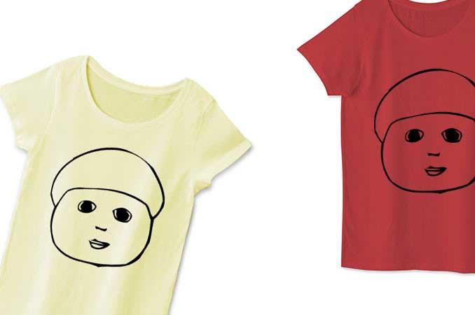 ユニークなチコデザレディースTシャツ