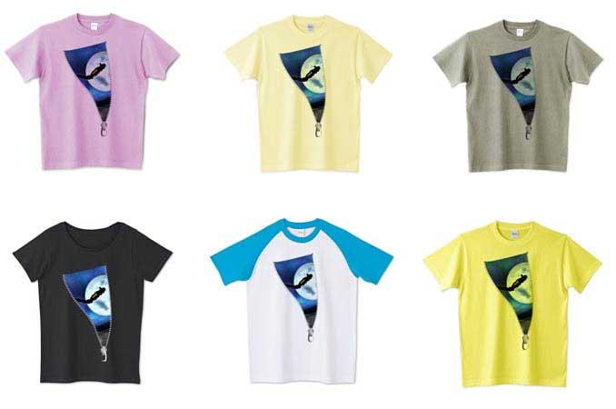 アート宇宙Tシャツラインナップ